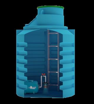 Кессон пластиковый Aquatech