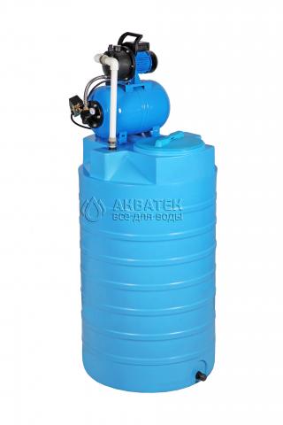 Бак для воды ATV-500 с автоматической насосной станцией JP 600PA-24L