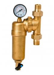 Фильтр промывной для горячей воды вращающийся JC148  1/2